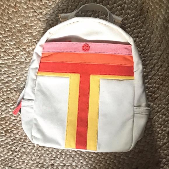 Tory Burch Handbags - Tory Burch Canvas Backpack